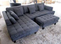 cindy crawford home metropolis slate right 4 pc livingroom new
