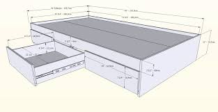 bed frames queen size bed dimensions how wide is a king size bed