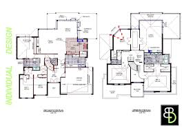 modern 2 story house floor plans interior design