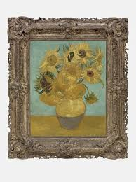 see vincent van gogh s sunflower paintings together for the first sunflowers 1889 vincent van gogh van gogh museum amsterdam vincent van gogh foundation