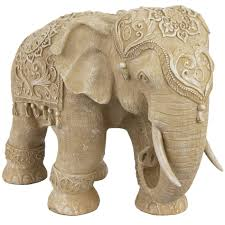 Statues For Home Decor by Features Beautiful Elephant Statue In Heavy Resin Masterfully