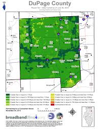 County Map Illinois by Dupage County Map U2014 Broadband Illinois