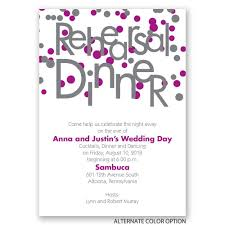 bubbly surprise rehearsal dinner invitation invitations by dawn