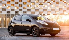 nissan 2017 2017 nissan leaf black edition takes the leaf to the dark side