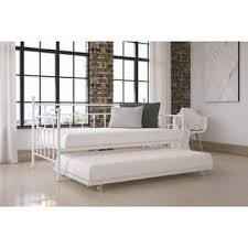 White Trundle Daybed Daybed For Less Overstock