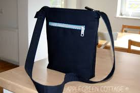 pattern for tote bag with zipper how to sew a welt zipper pocket on any bag applegreen cottage