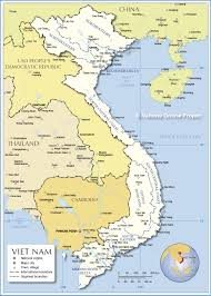 Mekong River Map Region Map Of Vietnam Nations Online Project
