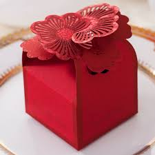 aliexpress com buy wedding candy bag red flower bride and groom