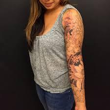 right sleeve japanese tiger tattoos