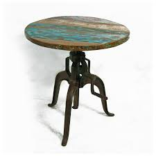 rustic round dining room tables interior inspiring rustic small round reclaimed wood tabletop