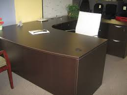 U Shape Desk New Offices To Go Laminate U Shaped Desk Bow Front Extended