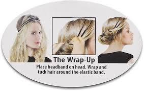 headband styler new localoc headband styler styling hair clip headband black