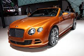 bentley orange new continental gt speed is fastest bentley ever autocar