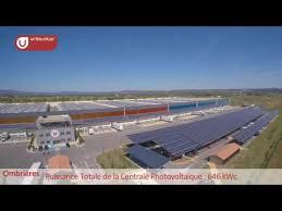 systeme u siege social urbasolar player photovoltaïque français