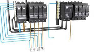 schneider electric split bus consumer unit wiring youtube