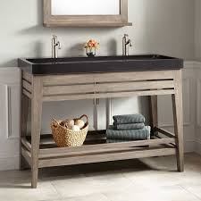 Bathroom Console Vanity Trough Sink For Bathroom How To Choose The Best Design