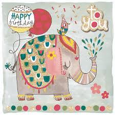 party camel scribbles happy birthday elephant
