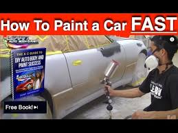 how to paint any car yourself step by step car painting in 12