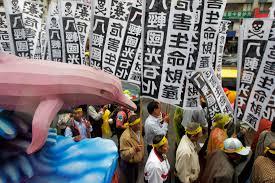 environmental issues facing taiwan
