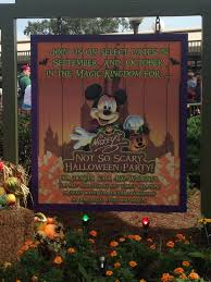 tickets on sale for mickey u0027s not so scary halloween party