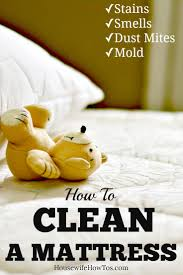 Getting Blood Out Of Upholstery How To Clean A Mattress Deodorize Remove Stains And Freshen