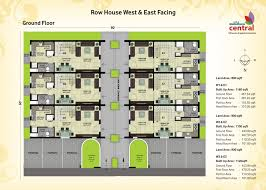 row home plans house plan vibrant inspiration 2000 sq ft row house plan 3 plans