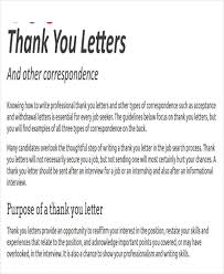 tutorials write thank you letter after an interview thank you letter format free u0026 premium templates