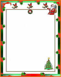 8 christmas letter templates free printable ledger page