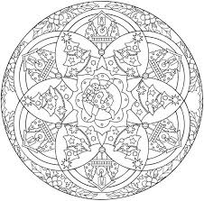christmas mandalas coloring bookkids coloring pages