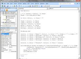 integration and automation with microsoft u0027s vba excel consultant