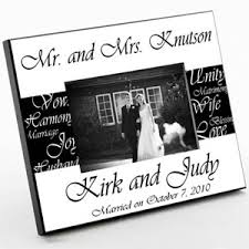 personalized wedding photo frame mr and mrs personalized frame groom s gifts more novelty