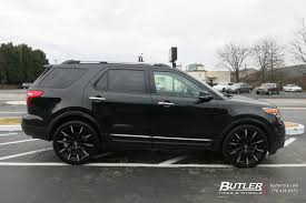 2009 Ford Explorer Ford Explorer With 22in Lexani Css15 Wheels Exclusively From