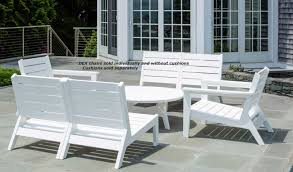 Patio Furniture Without Cushions Seaside Casual Dex Collection Modular Chair