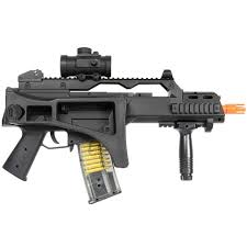 amazon com double eagle m85p aeg electric airsoft gun rifle