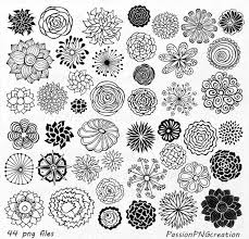 Flowers Designs For Drawing Best 25 Hand Drawn Flowers Ideas On Pinterest Wall Drawing