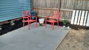 Where To Buy Patio Pavers by Building A Simple Patio Using Paving Stones 9 Steps With Pictures