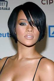 cool black hair short haircuts for round faces short hairstyles