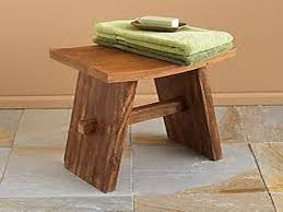 Teak Shower Bench Corner Bathroom Bench For Safety Usage Bathroom Bench Bathroom Bench