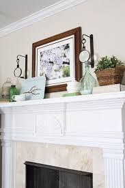 Fireplace Mantel Decor Ideas by 16 Best House Mantle Decor Ideas Images On Pinterest Mantle