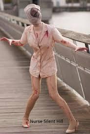 Silent Hill Nurse Halloween Costume Jacqueline Goehner Silent Hill Nurse Cosplay