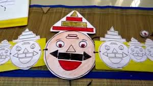 dussehra themed craft with free printable mask 7 in 1 activities