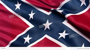 Confderate Flag Confederate Flag Seamless Loop Ultra Hd Stock Animation 7197421