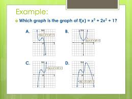 5 4 analyzing graphs of polynomial functions ppt download