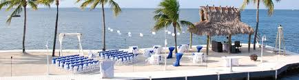key largo weddings key largo wedding packages key largo bay marriott resort