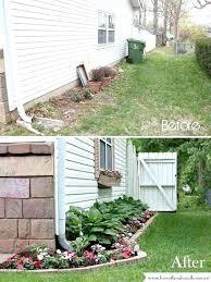 Front Lawn Garden Ideas Easy Landscaping Ideas For Backyard Image Of Desert Landscaping