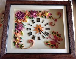 Clock Designs by 152 Best Quilling Clocks Watches Images On Pinterest Quilling