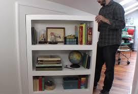 Diy Bookcase Door 6 Incredible Diy Secret Doors The Handy Mano