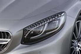 mercedes headlights vwvortex com mercedes benz reveals their flagship s class coupe