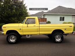 Ford F 150 Yellow Truck - ford f 150 1960 review amazing pictures and images u2013 look at the car