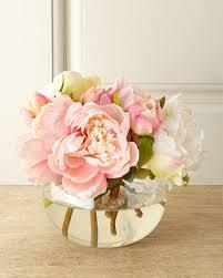 faux floral arrangements richard collection chantilly lace faux floral arrangement